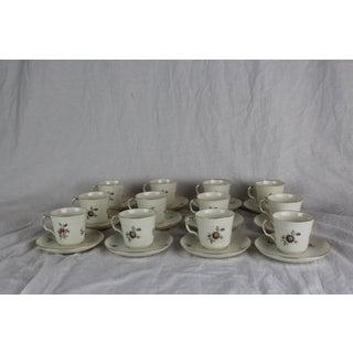 Royal Copenhagen Cups & Saucers - Set of 12 Preview