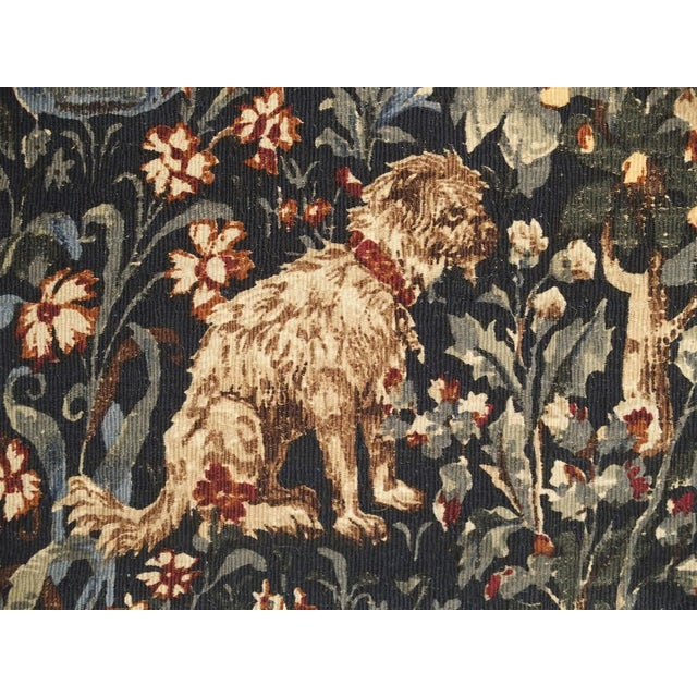 Medieval Style Tapestry from France, 20th Century For Sale - Image 11 of 12