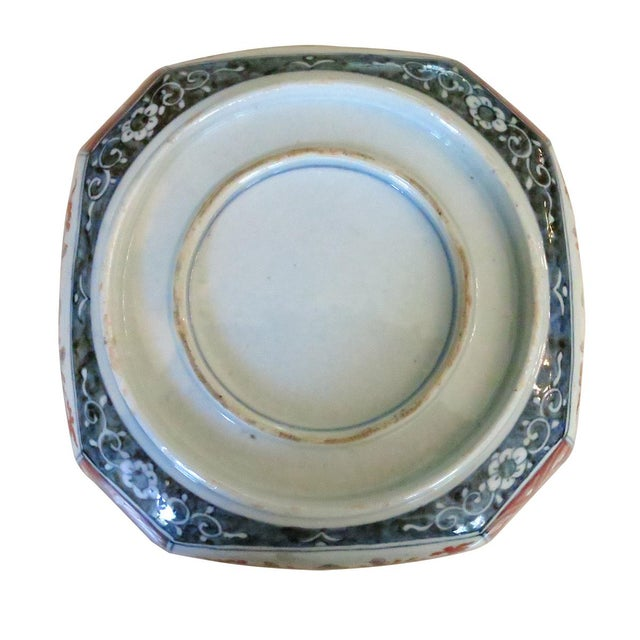 Imari Porcelain Late 19th Century Vintage Japanese Meiji Imari Porcelain Bowl For Sale - Image 4 of 5
