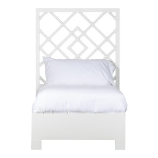 Darien Bed Twin Extra Long - White For Sale