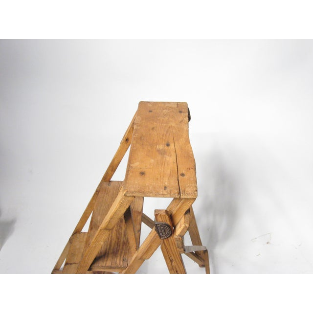 19th C. Hatherley Step Ladder For Sale - Image 5 of 8