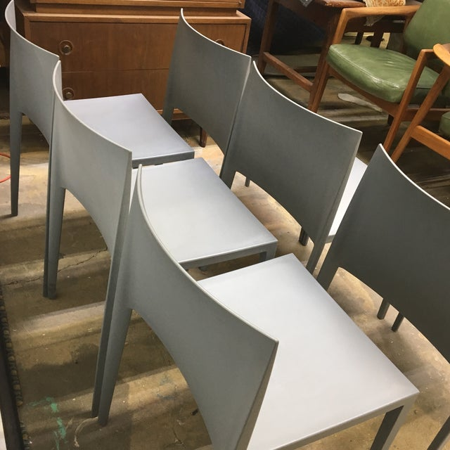 Modernistic Cazzaniga Stackable Chairs - Set of 6 For Sale - Image 11 of 13