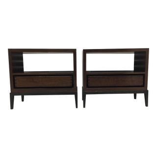 Holly Hunt Sycamore Nightstands - a Pair For Sale