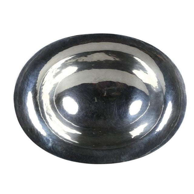 Art Deco Georg Jensen Sterling Candy Dish For Sale - Image 3 of 6