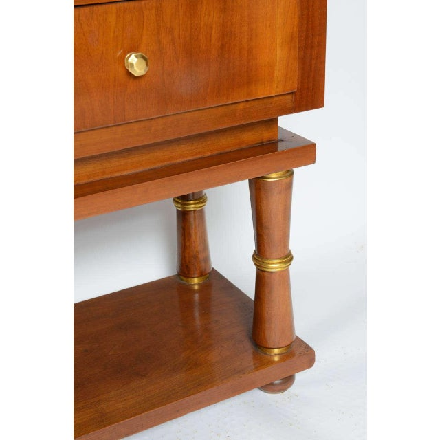 Brown Borsani Style Cabinet For Sale - Image 8 of 12