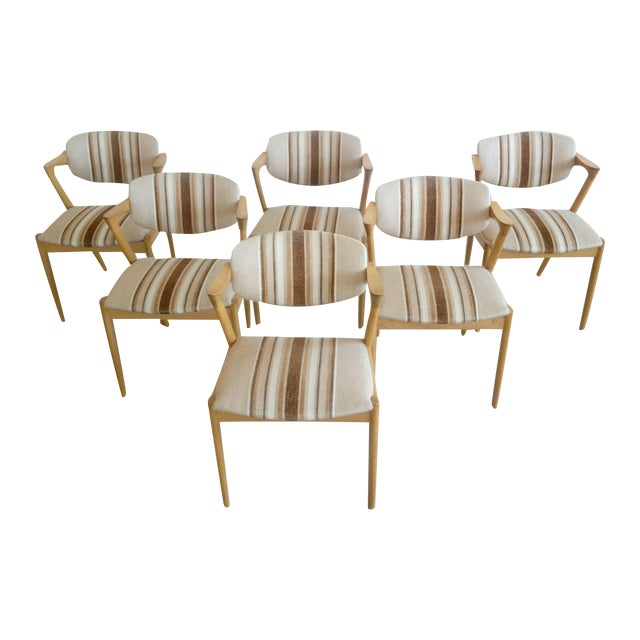 Kai Kristiansen Model 42 Dining Chairs - Set of 6 - Image 1 of 9