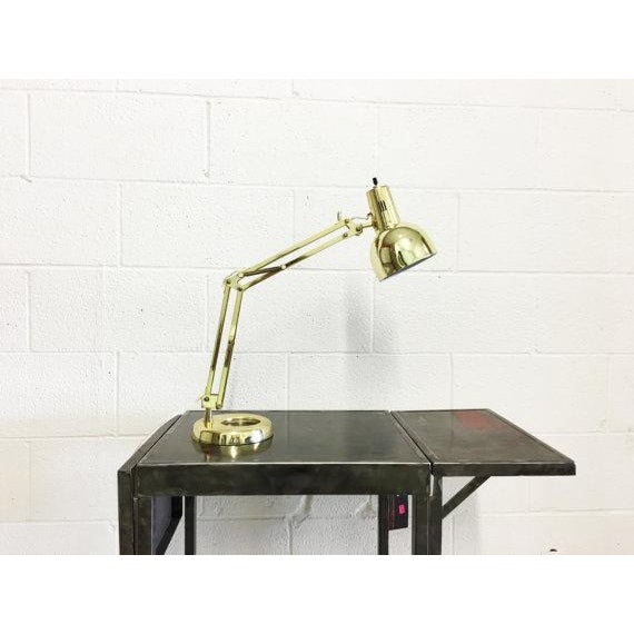 Mid-Century Modern Industrial Desk Lamp - Image 6 of 6