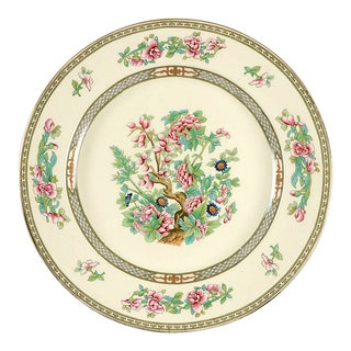 """Crown Ducal Indian Tree 12"""" Round Platter For Sale"""