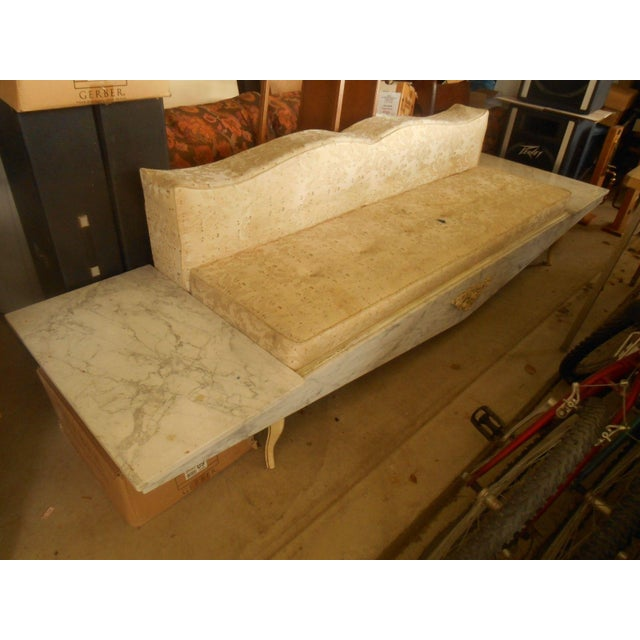 Hollywood Regency-Style Platform Sofa - Image 2 of 8