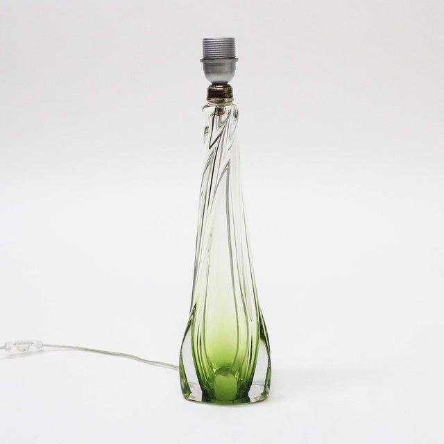 Val St Lambert Table Lamp - Image 5 of 7