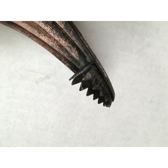 Antique Copper Coal Tongs - Image 8 of 9