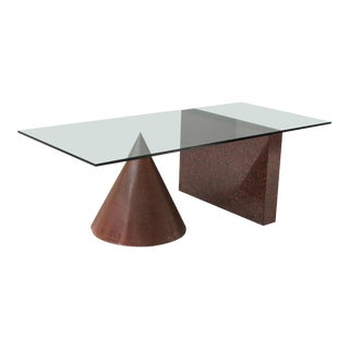 Kono Dining Table by Lella & Massimo Vignelli for Casigliani For Sale