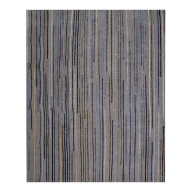"""""""Tiny Stripes"""" Rug by Emma Gardner For Sale"""