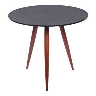 Early Phillip Lloyd Powell Slate Top Occasional Table For Sale