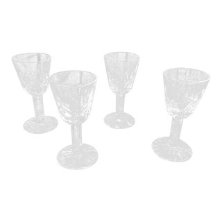 Waterford Crystal Lismore Cordial Glasses Set of 4