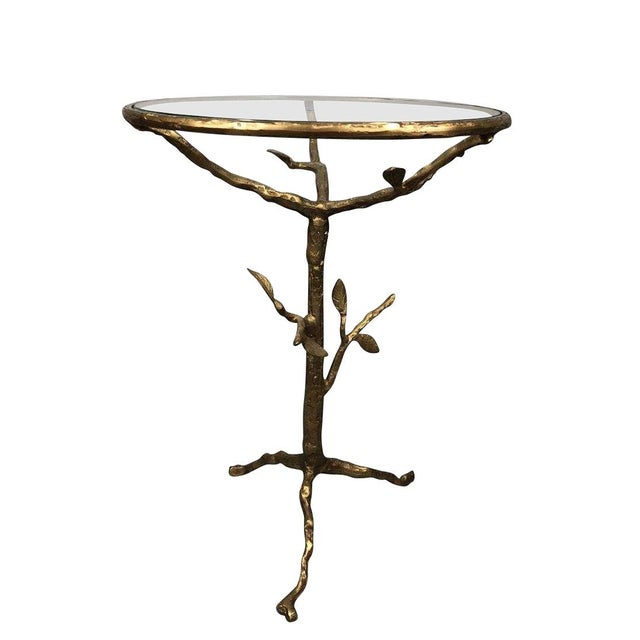 Late 20th Century Late 20th Century Bronze Tree Table For Sale - Image 5 of 6