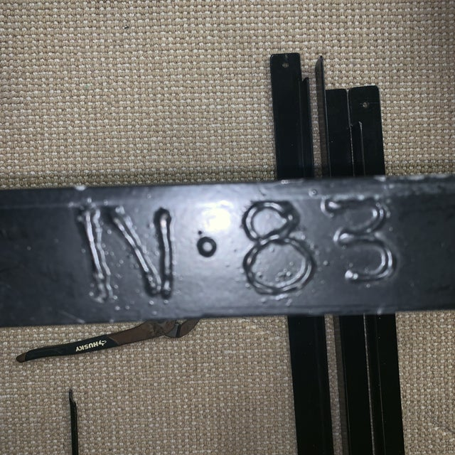 19th Century Victorian Brass and Iron King Bedframe For Sale - Image 11 of 13