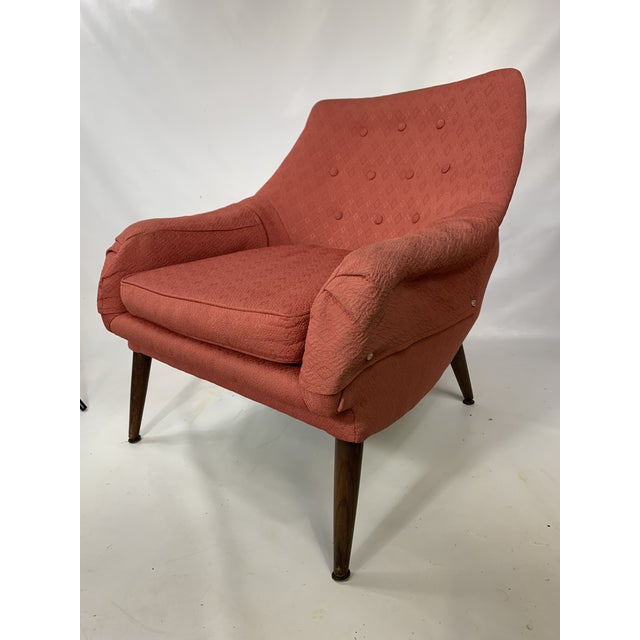 Mid-Century Lawrence Peabody - Craft Assoc. Lounge Chair For Sale - Image 10 of 10