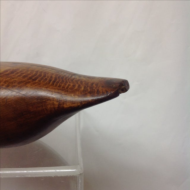 Antique Hand-Carved Duck Decoy - Image 7 of 7