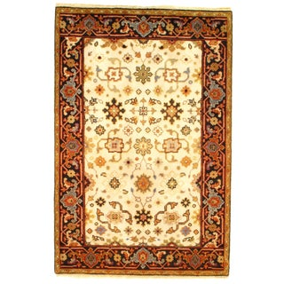Pasargad Ny Mahal Design Hand Knotted Rug - 4' X 6' For Sale
