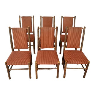 Old Hickory Furniture Co. Side Chairs- Set of 6 For Sale