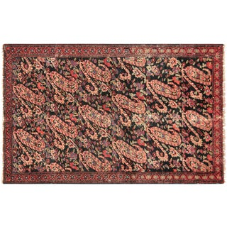 "1940s Persian Senne Rug - 2'5"" X 4'2"" For Sale"