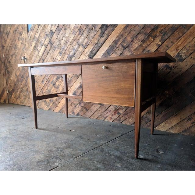 Mid-Century Modern Mid Century Drexel Declaration Desk by Kipp Stewart For Sale - Image 3 of 11