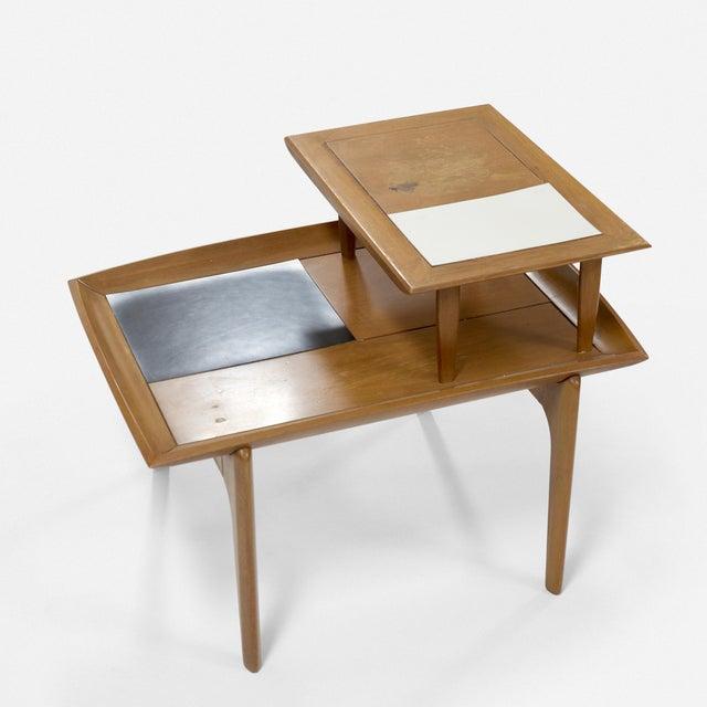 Brown Saltman Set of Three Vintage Midcentury Modern Tables Designed by John Keal for Brown Saltman For Sale - Image 4 of 7