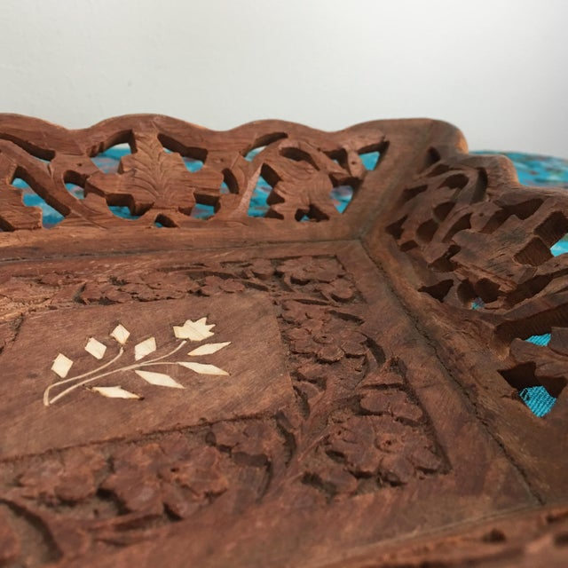 1940s Vintage Syrian Decorative Tray For Sale In Savannah - Image 6 of 9