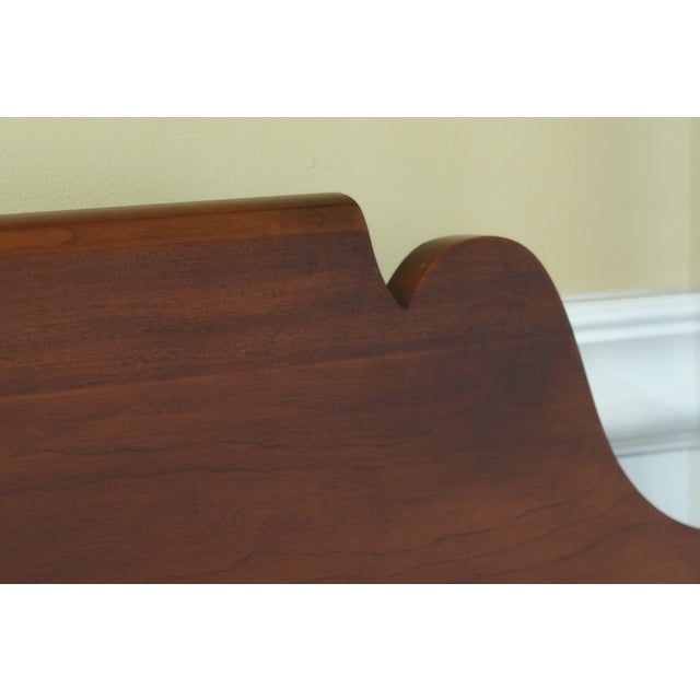 Wood Statton Old Towne Cherry Full Size Poster Bed For Sale - Image 7 of 9
