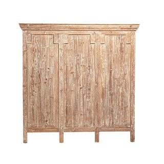 Reclaimed Wood Headboard Queen For Sale