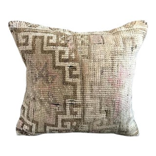 Anatolian Handwoven Vintage Pillowcase For Sale