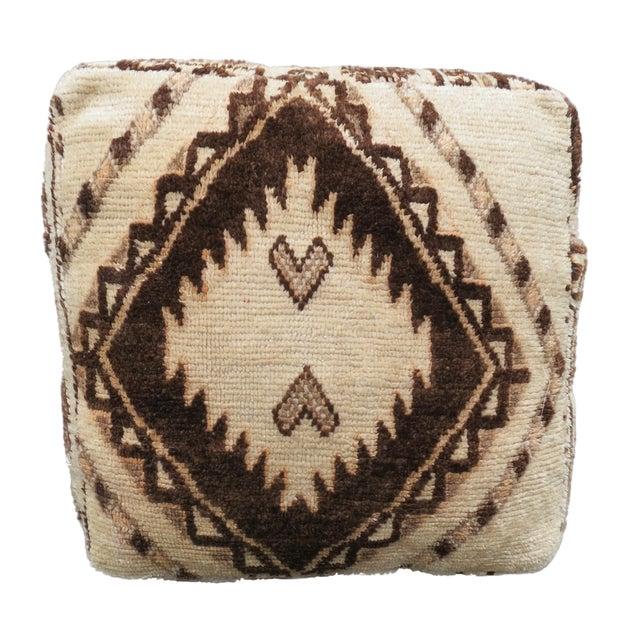 Vintage Moroccan Floor Pillow - Image 1 of 4