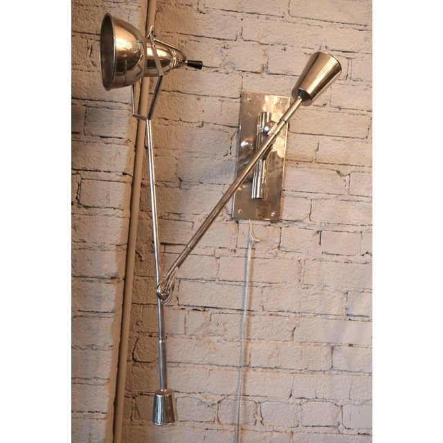 1920's Wall Lamp by Edouard Buquet For Sale In Los Angeles - Image 6 of 7