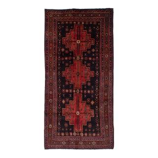 "Zanjan Vintage Persian Rug, 4'3"" x 8'9"" feet"