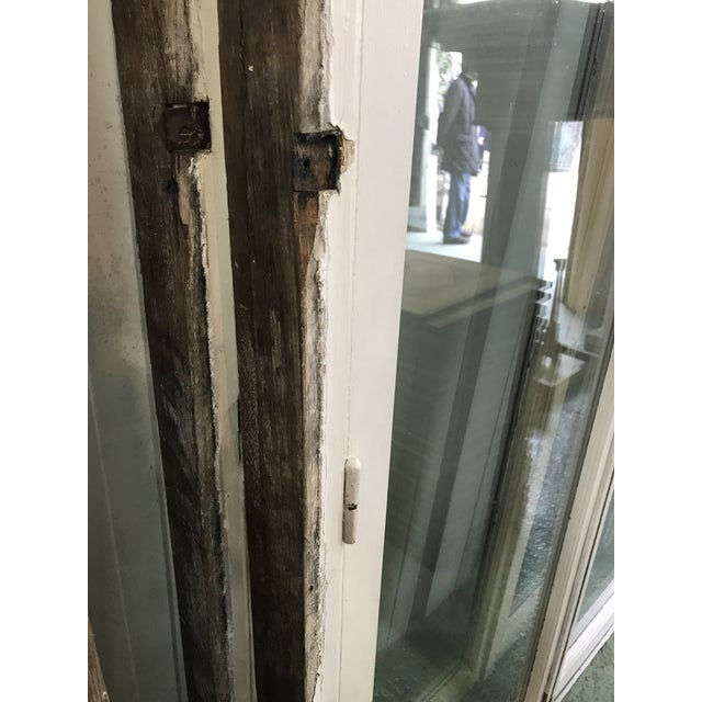 Glass Antique French Chateau Doors - a Pair For Sale - Image 7 of 9