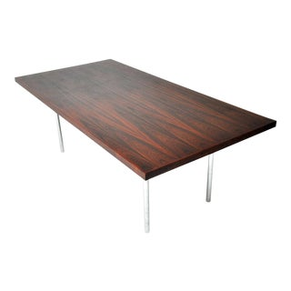 Rosewood Dining Table Mies Van Der Rohe For Sale