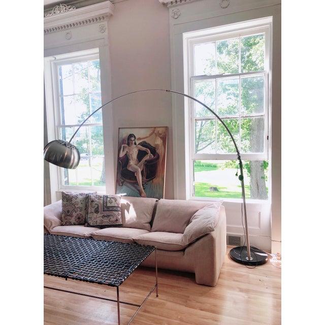 N. Eilersen Danish Modern Down Sofa For Sale - Image 10 of 13