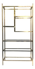 Image of Brass Shelving