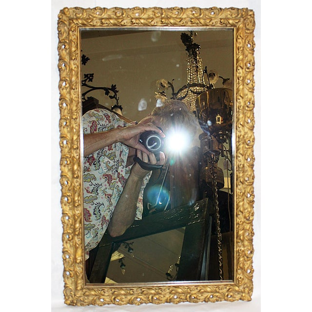 Antique American Gilt Mirror - Image 4 of 4