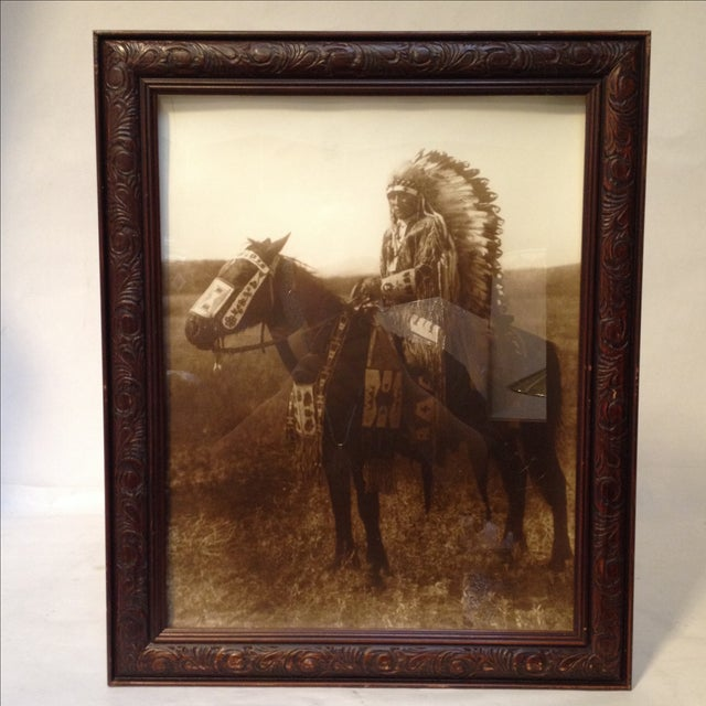 Native American Chief Hector Photograph - Image 7 of 8