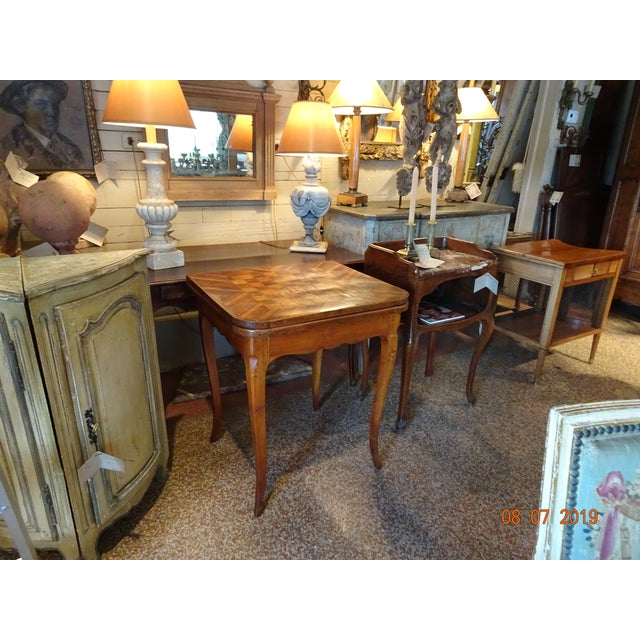 Brown 18th Century French Game Table For Sale - Image 8 of 9