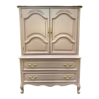Vintage Henry Link French Provincial Armoire For Sale