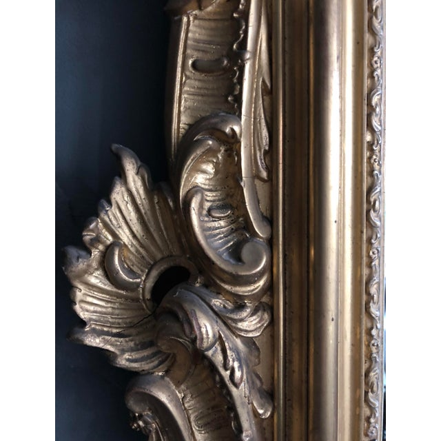 Glass 19th Century Mirror For Sale - Image 7 of 9