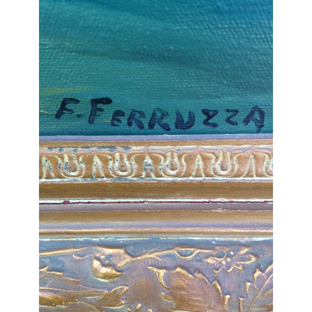 Frank Ferruzza Original Oil Sea Scape - Image 5 of 5