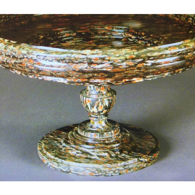 Neoclassical 19th Century Neoclassical Marble Tazza For Sale - Image 3 of 7