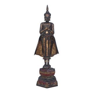 Antique Buddha Standing Sculpture For Sale
