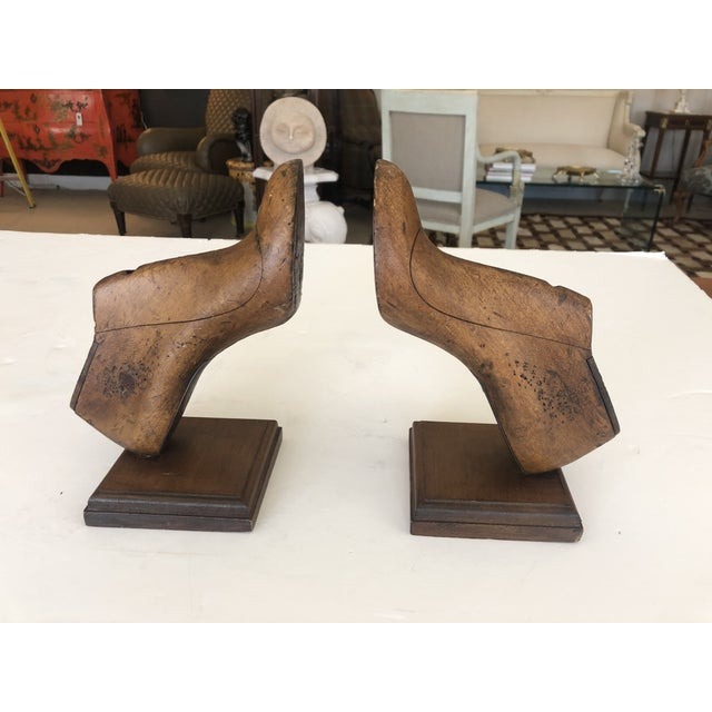 19th Century Shoe Mold Bookends - a Pair For Sale - Image 10 of 10
