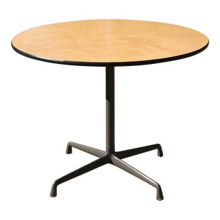 Mid Century Modern Eames for Herman Miller Dining Table For Sale