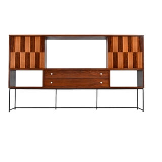 Mid-Century Wall Unit/Bookshelf by Stanley Distinctive For Sale